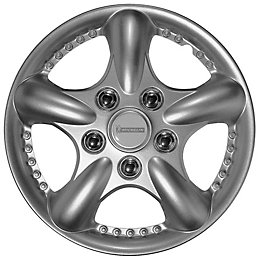 """Michelin Rounded 13"""" Wheel Trim, Pack of 4"""