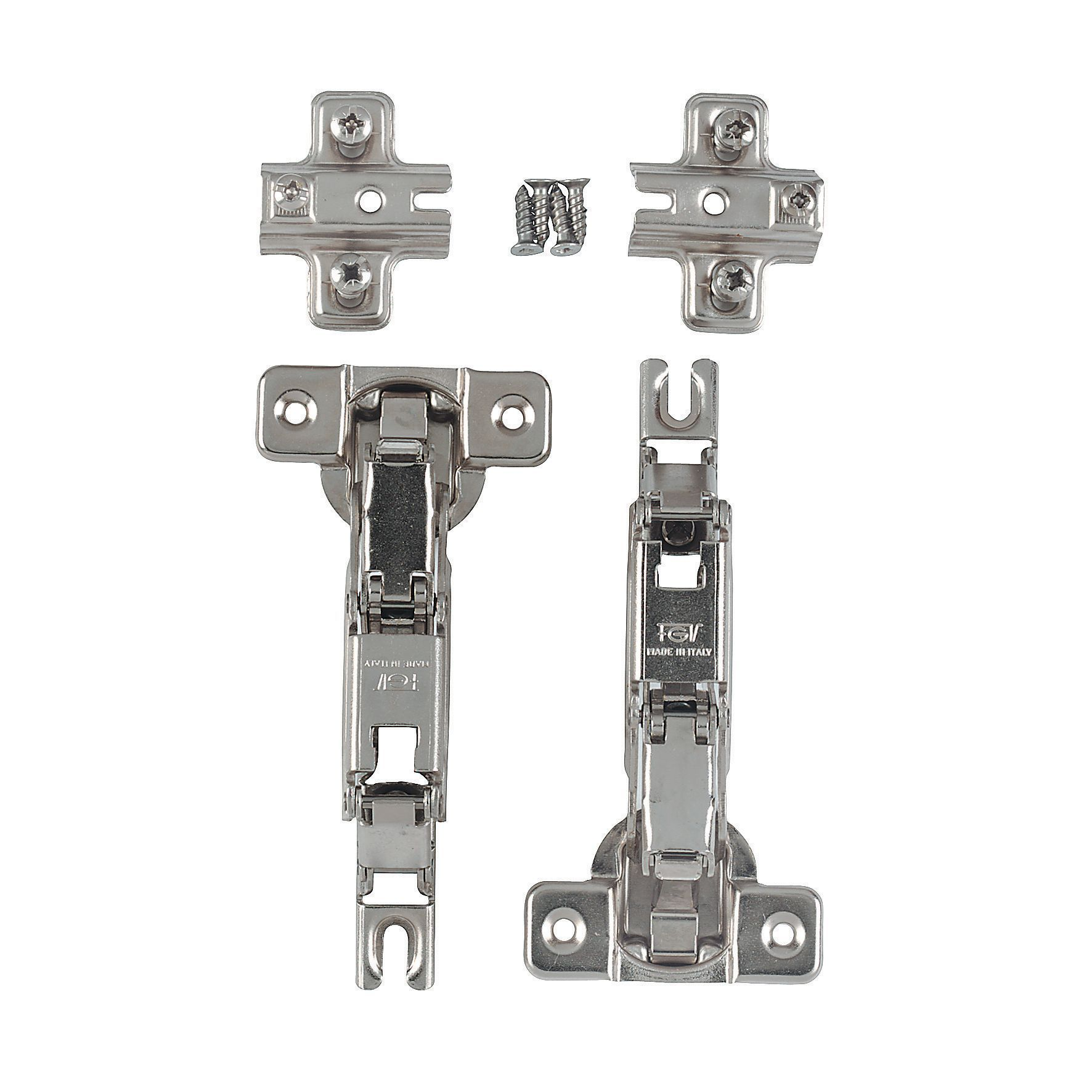 it kitchens standard 170 cabinet hinge pack of 2 departments