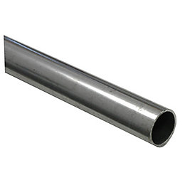 FFA Concept Steel Round Tube, (W)25mm (L)1m