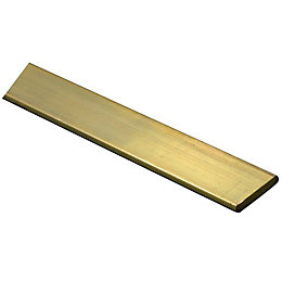 Brass Panel (L)1m (W)10mm (T)2mm