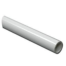 FFA Concept White PVC Round Tube, (W)7mm (L)1m