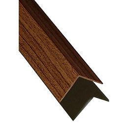 PVC Corner (H)20mm (W)20mm (L)1m