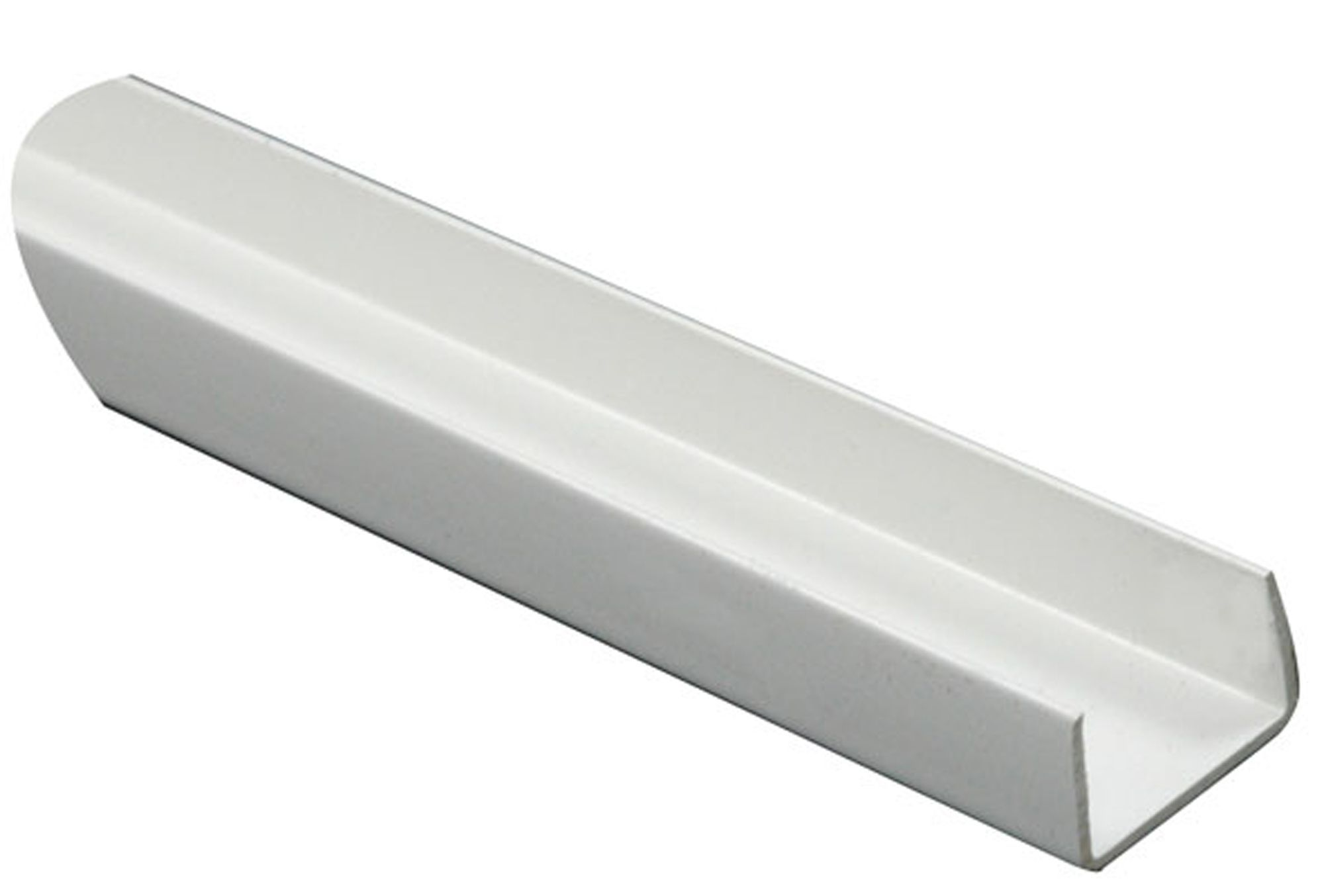 White Pvc U Profile H 10mm W 18mm L 1m Departments