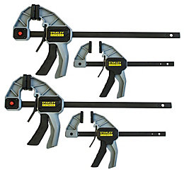 Stanley FatMax Trigger Clamps, Set of 4