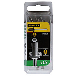 Stanley Staples 1-PAA66T (Dia)4mm (L)12mm 200G, Pack of