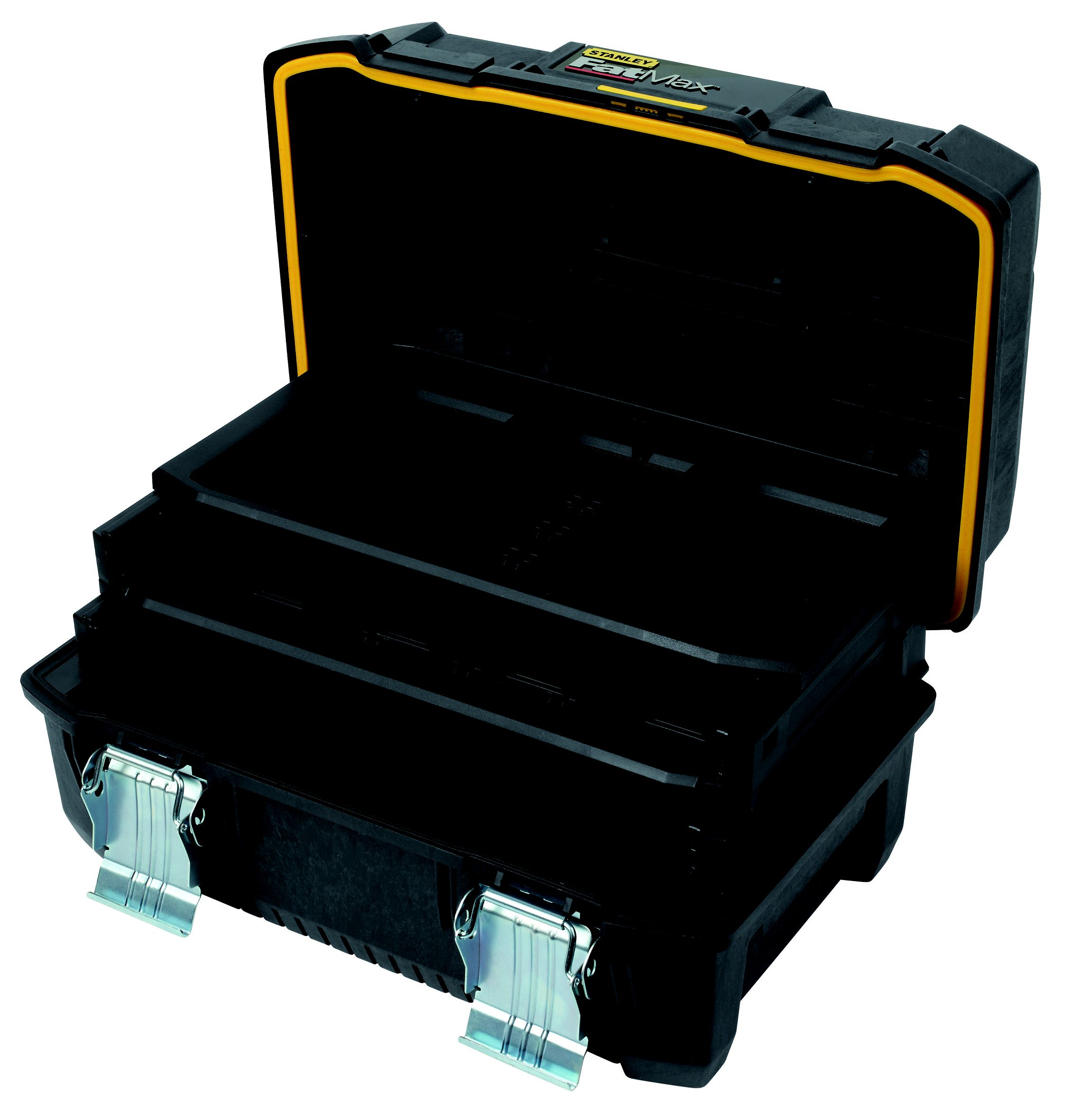 Stanley fatmax cantilever toolbox w 460mm d 320mm for B q bedroom storage
