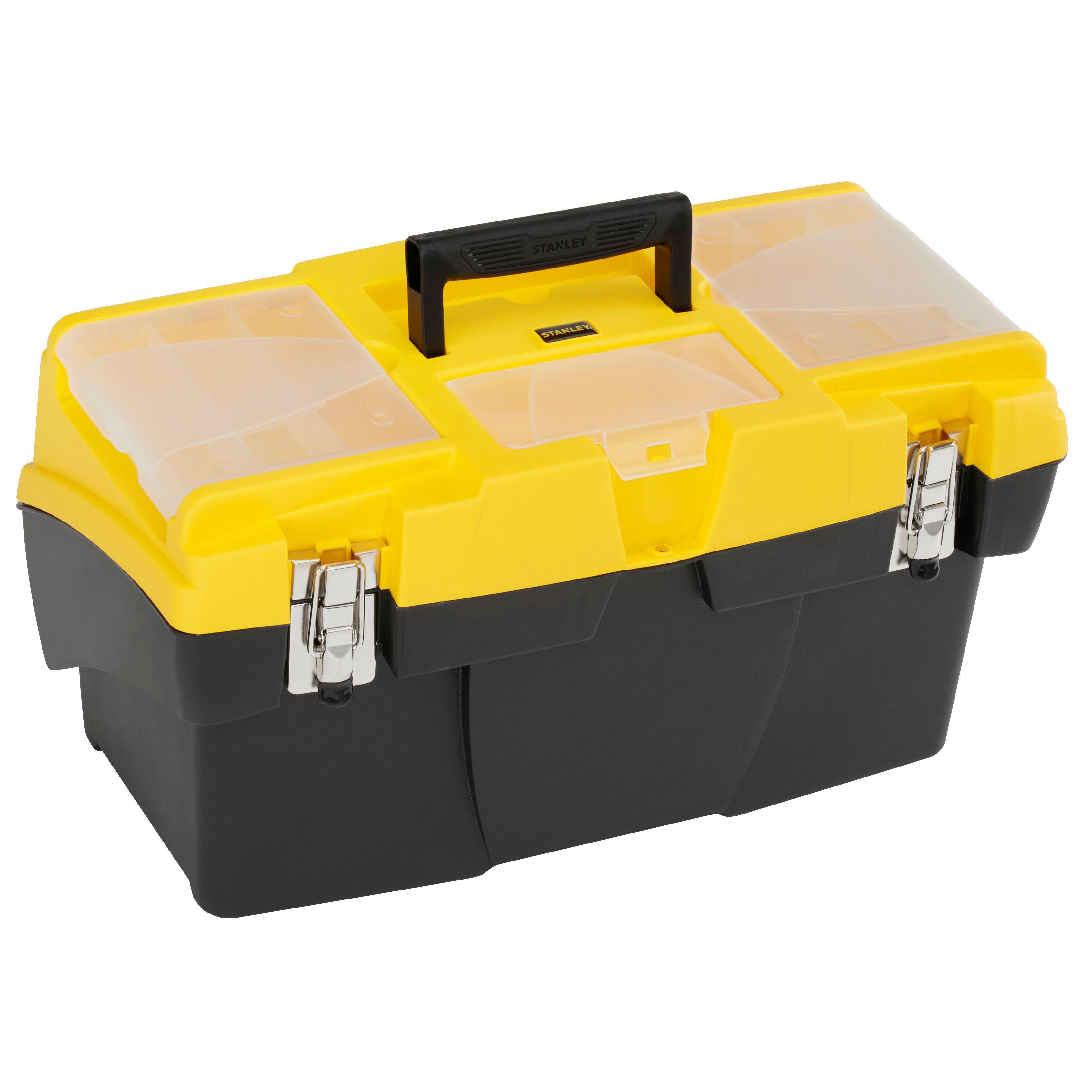 Stanley 19 Quot Cantilever Tool Box Departments Diy At B Amp Q