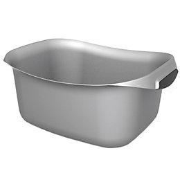 Curver Urban Silver Square Kitchen Washing Up Bowl