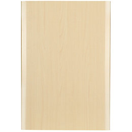 IT Kitchens Sandford Maple Effect Modern Drawerline Door