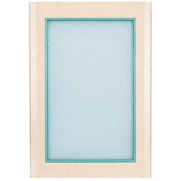 IT Kitchens Sandford Maple Effect Modern Glazed Door