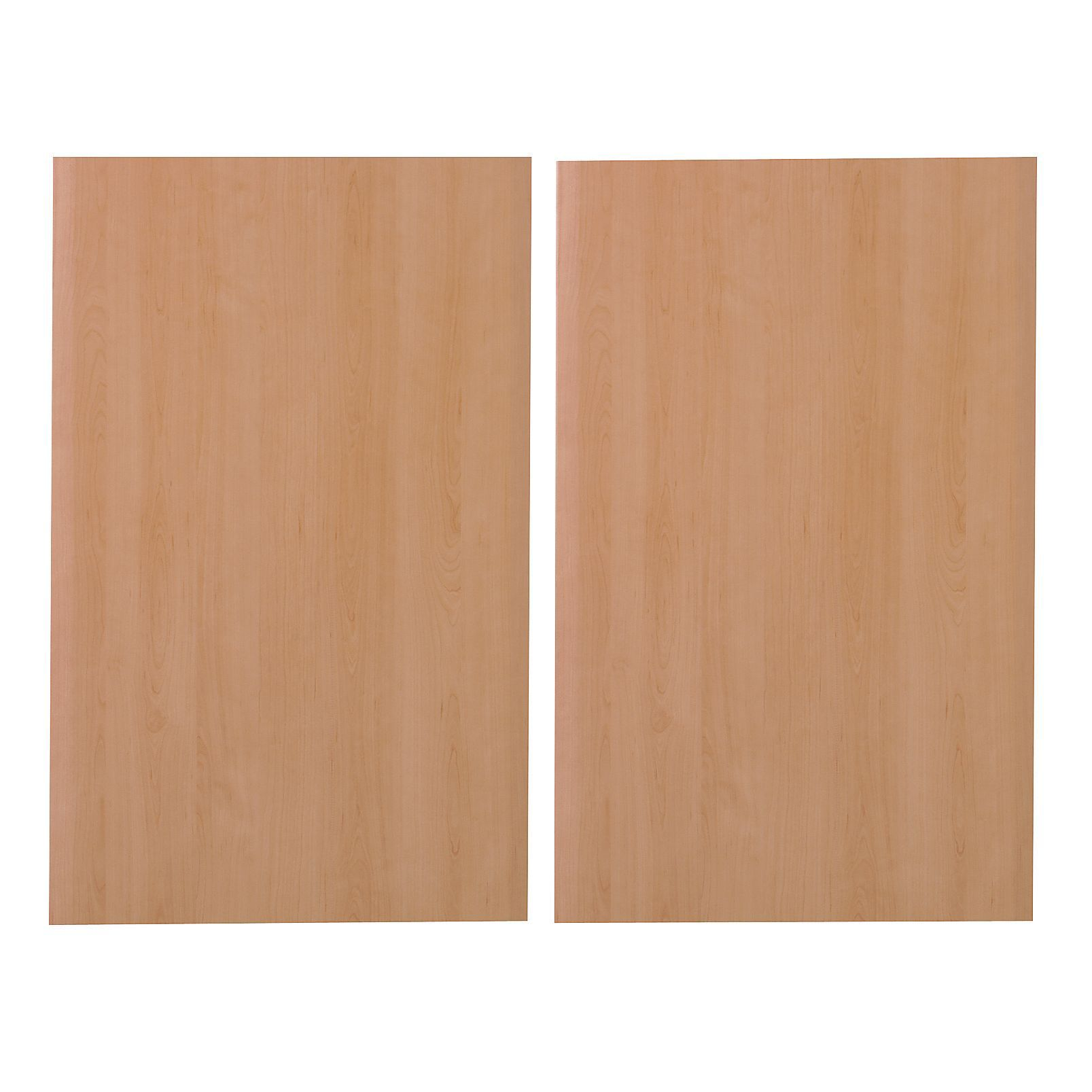 It Kitchens Sandford Cherry Effect Modern Larder Door (w)600mm, Set Of 2