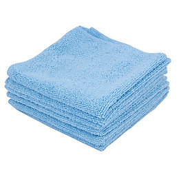 Ettore Microfibre Cleaning Cloth, Pack of 6