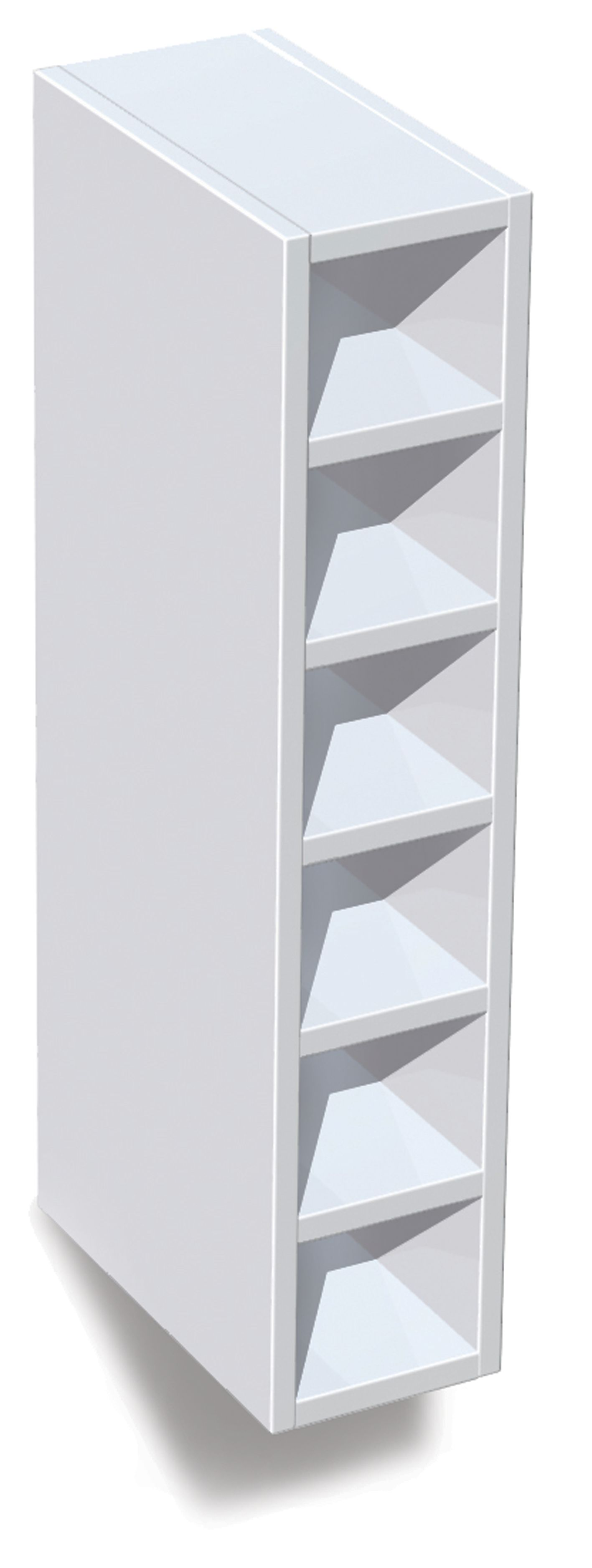 It kitchens white wine rack cabinet w 150mm departments for Building a wine rack in a cabinet
