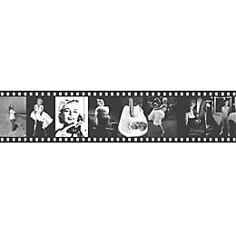 Lutece Marylin Monroe Black & White Film Strip
