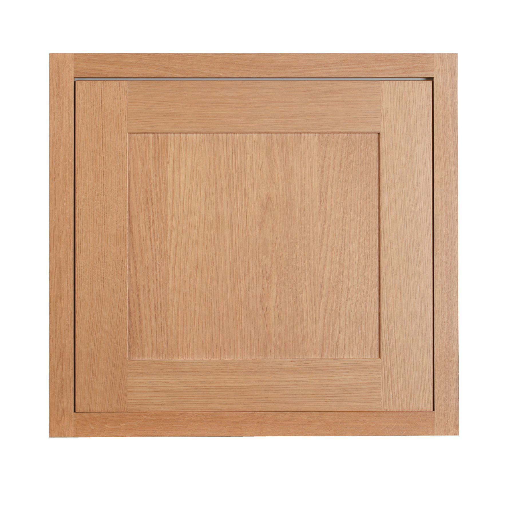 Cooke Lewis Carisbrooke Oak Framed Oven Housing Door W 600mm Departments Diy At B Q