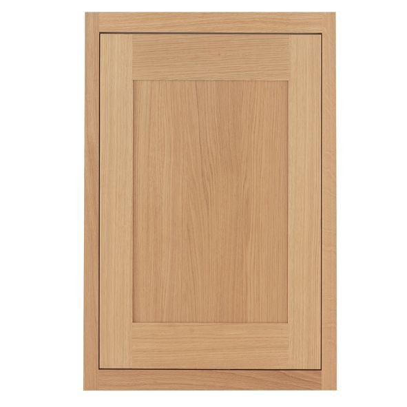 Cooke & Lewis Carisbrooke Oak Framed Tall Standard Door (w)600mm