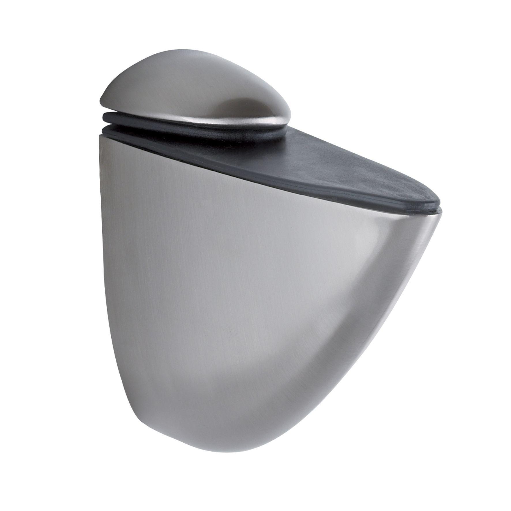It Kitchens Matt Silver Nickel Effect Steel Shelf Bracket