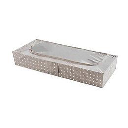Compactor Home Polka Dot Underbed Storage Bag