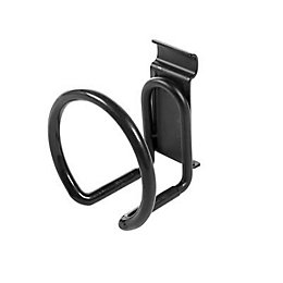 Walltech Wall Mountable Black Hook (W)10cm