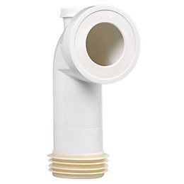 Wirquin Push Fit 90 Degree Pan Connector with