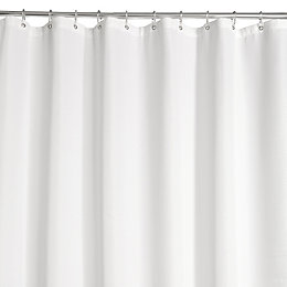 White Waffle Shower Curtain (L)2 M