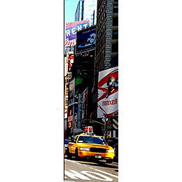Graham & Brown New York Taxi Mural
