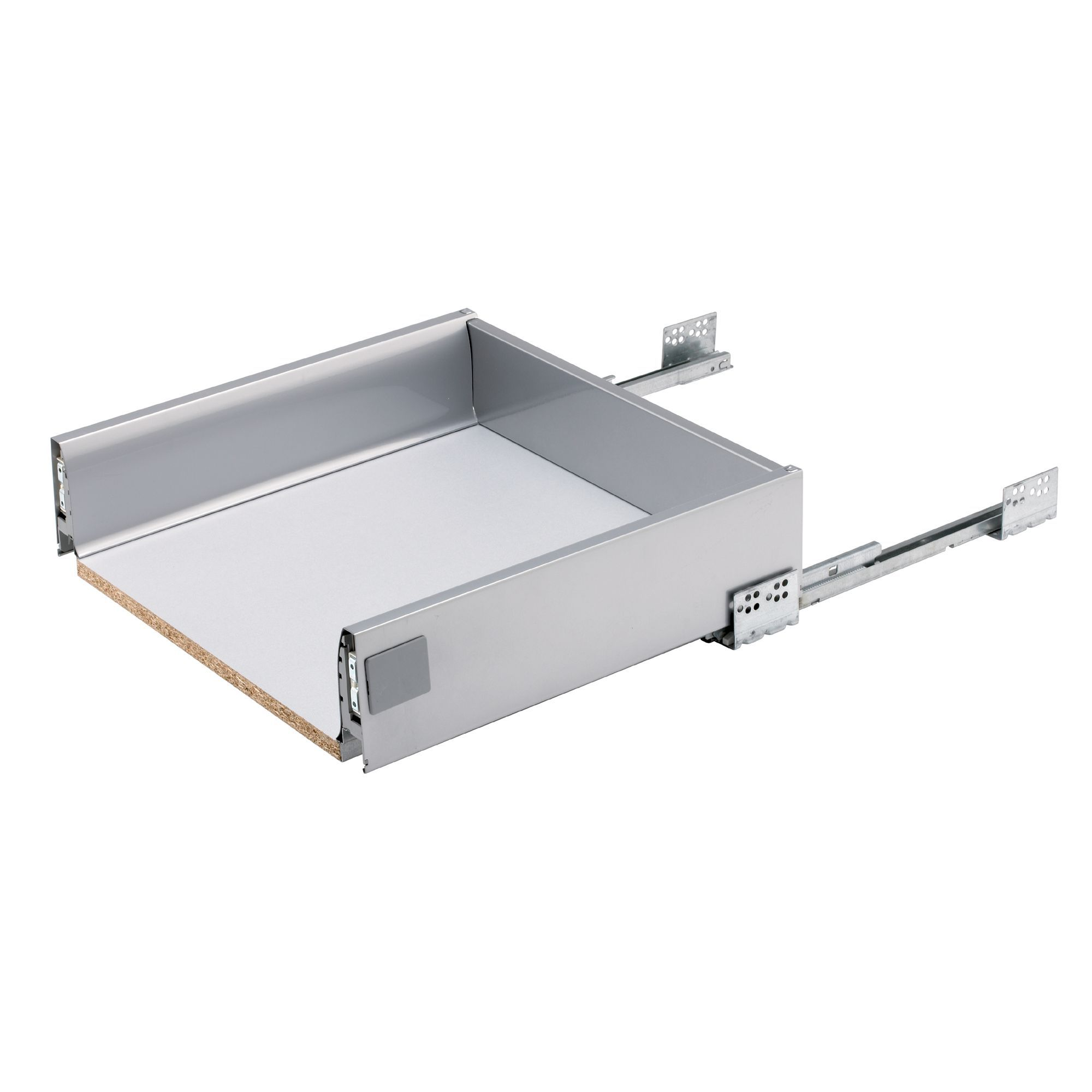 IT Kitchens Stainless Steel Effect Drawer Box (W)468mm | Departments ...