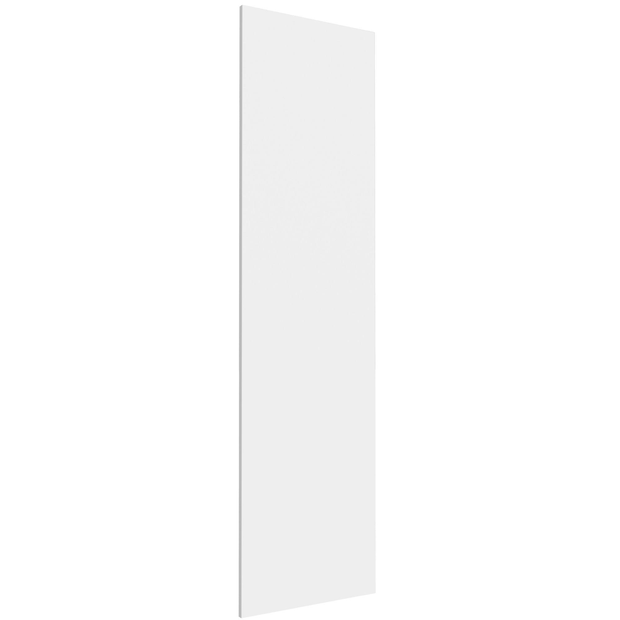 Darwin Modular White & Matt Wardrobe Door (h)1936mm (w)497mm (d)16mm