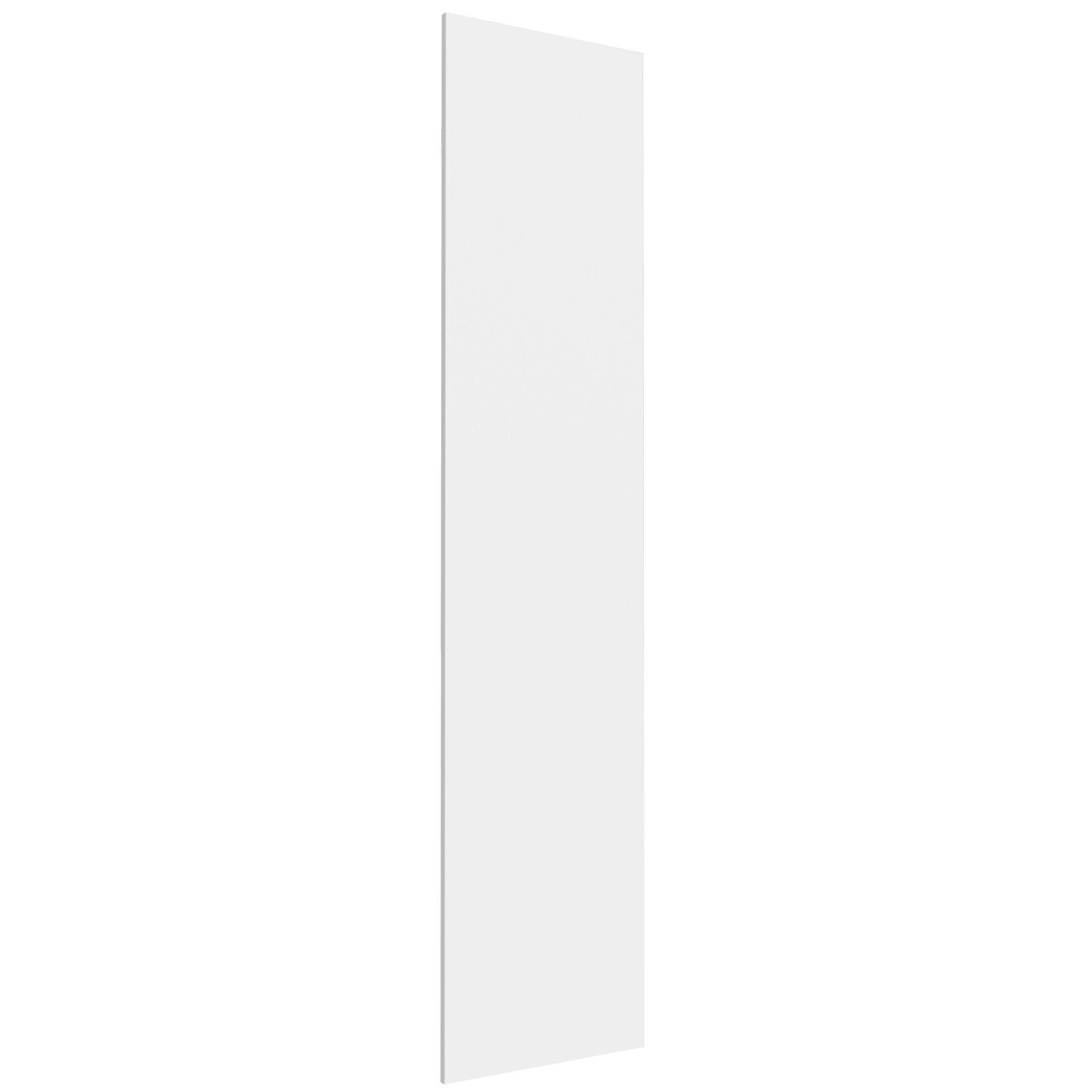 Darwin Modular White & Matt Tall Wardrobe Door (h)2288mm (w)497mm (d)16mm