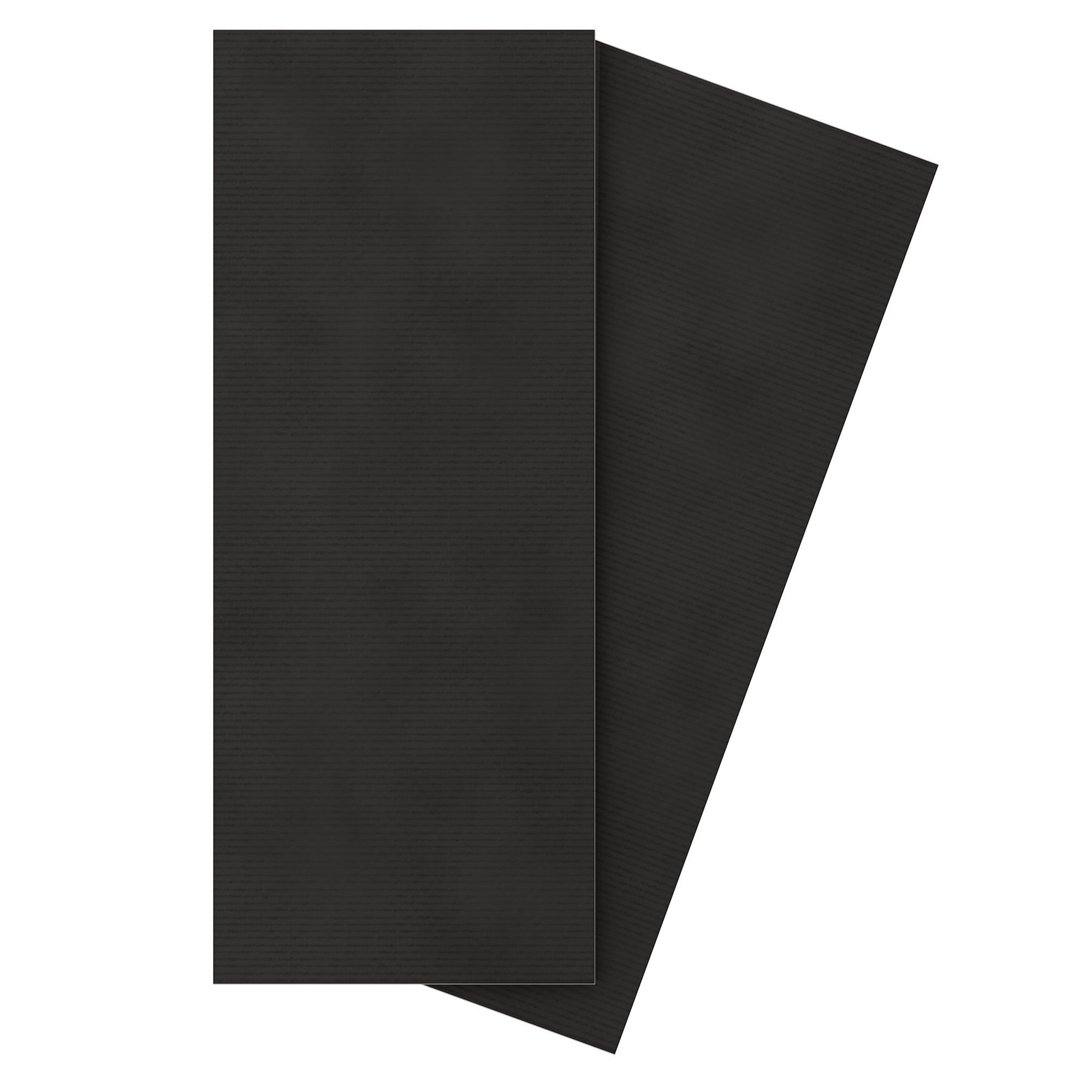 Voyage Anthracite Ceramic Wall Tile, Pack Of 10, (l)500mm (w)200mm