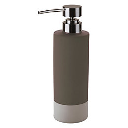 Cooke & Lewis Baya Taupe Soap Dispenser
