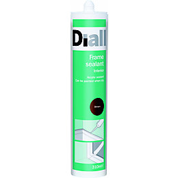 Diall Brown Suitable For Limited Movement Joints Sealant