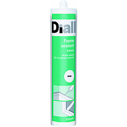 Diall White Suitable For Limited Movement Joints Sealant