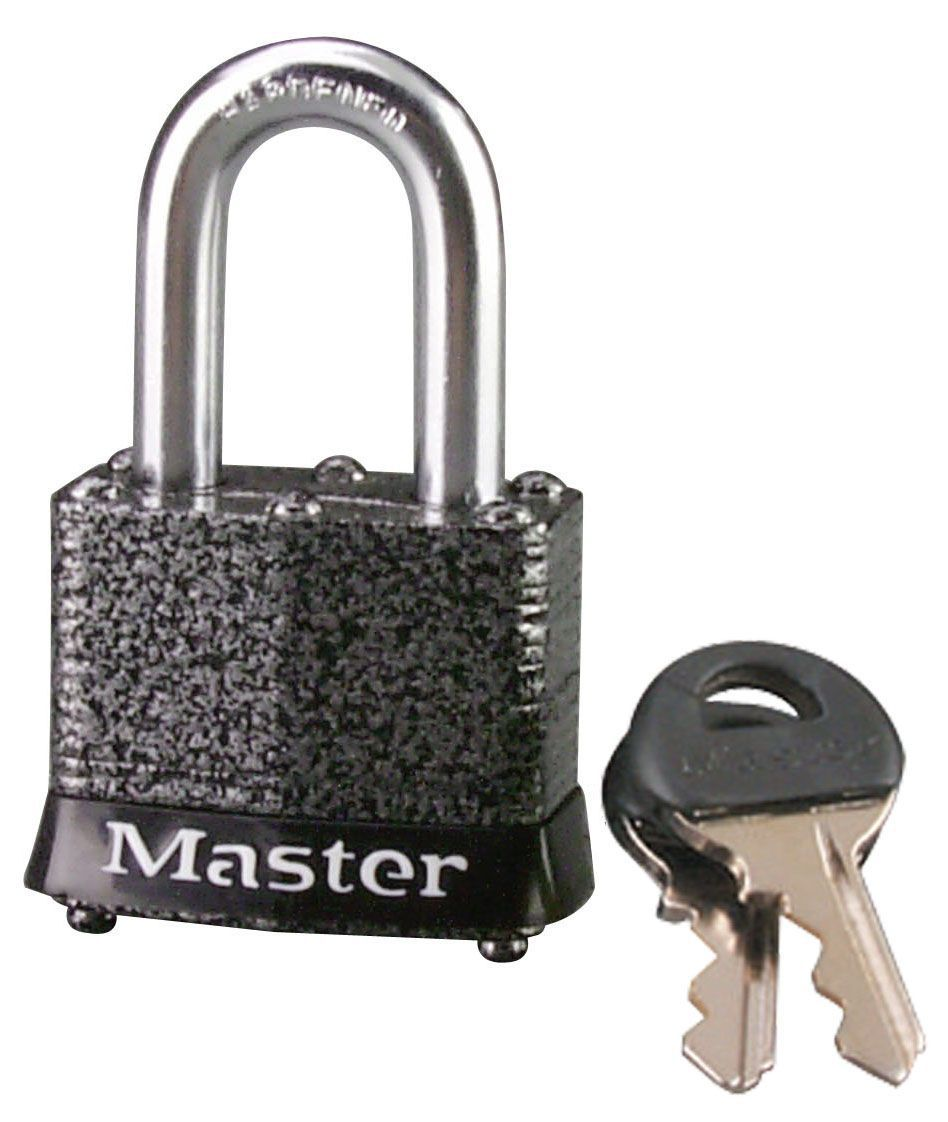 Master Lock Steel 4-pin Tumbler Cylinder Open Shackle Padlock (w)40mm