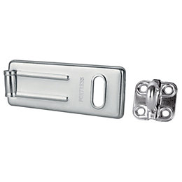 Master Lock Hard Wrought Steel (L)115mm Hasp &
