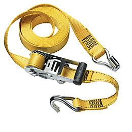Master Lock Black, Silver & Yellow 4.5m Tie