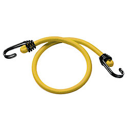 Master Lock Black & Yellow Bungee Cords (L)1000mm,