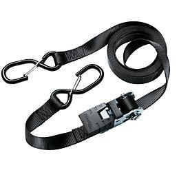 Master Lock Black 4.25m Ratchet Strap, Pack of