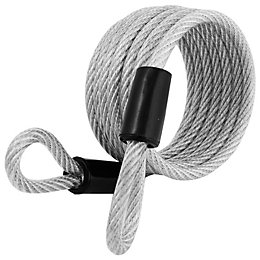 Master Lock Braided Steel Cable Lock (W)6mm (L)1800mm