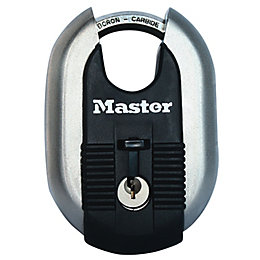 Master Lock Excell Steel Octagonal Closed Shackle Padlock