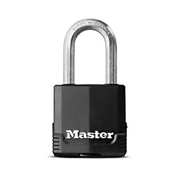 Master Lock Excell Laminated Steel 4 Pin Tumbler