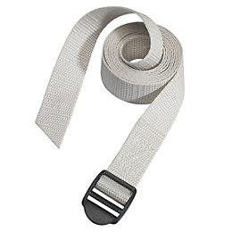 Master Lock Grey 1.8m Luggage Strap, Pack of