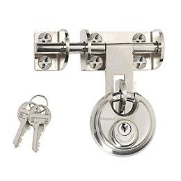 Master Lock Steel 4-Pin Tumbler Cylinder Hasp &