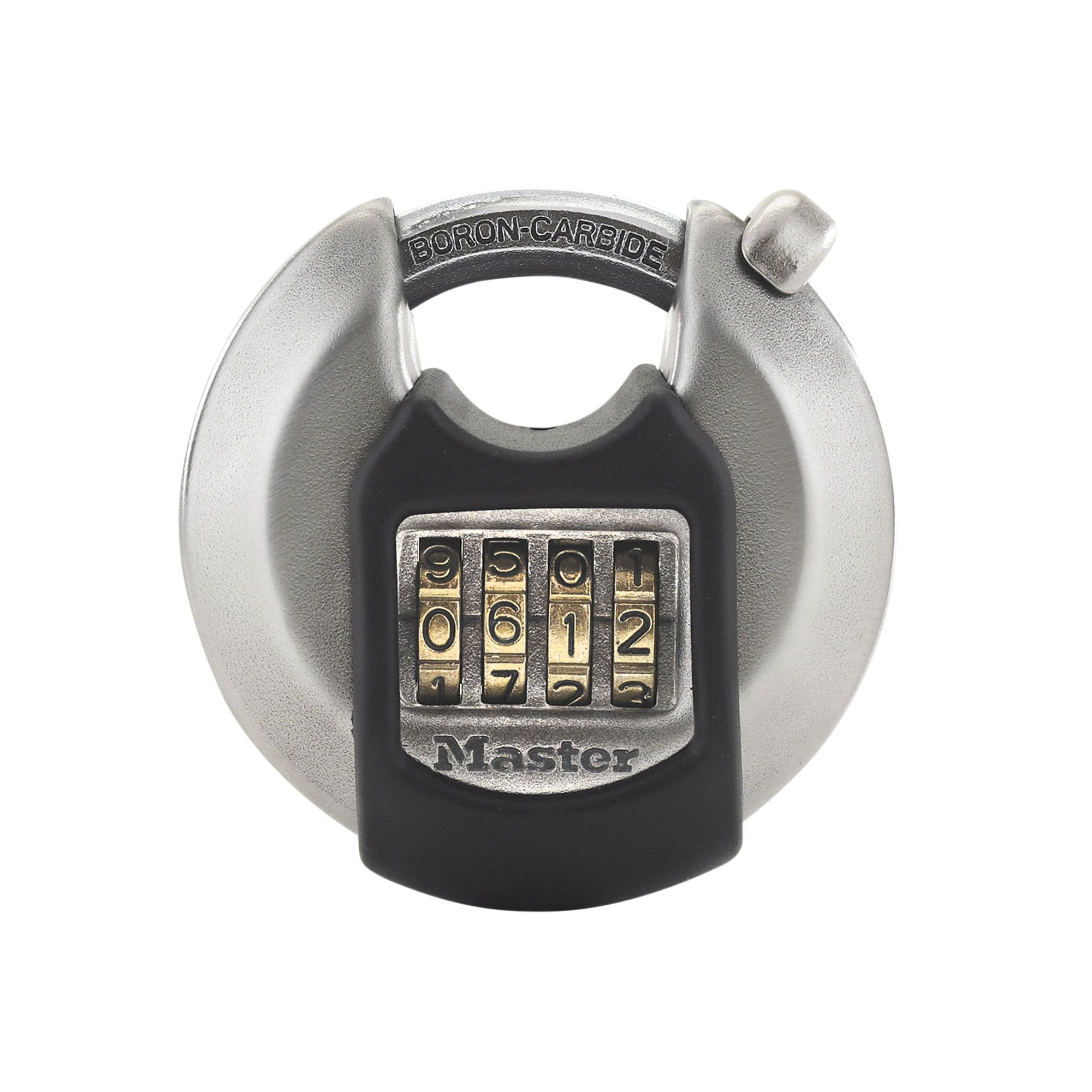 Master Lock Weather Tough Stainless Steel Resettable Combination Boron Carbide Padlock (w)70mm