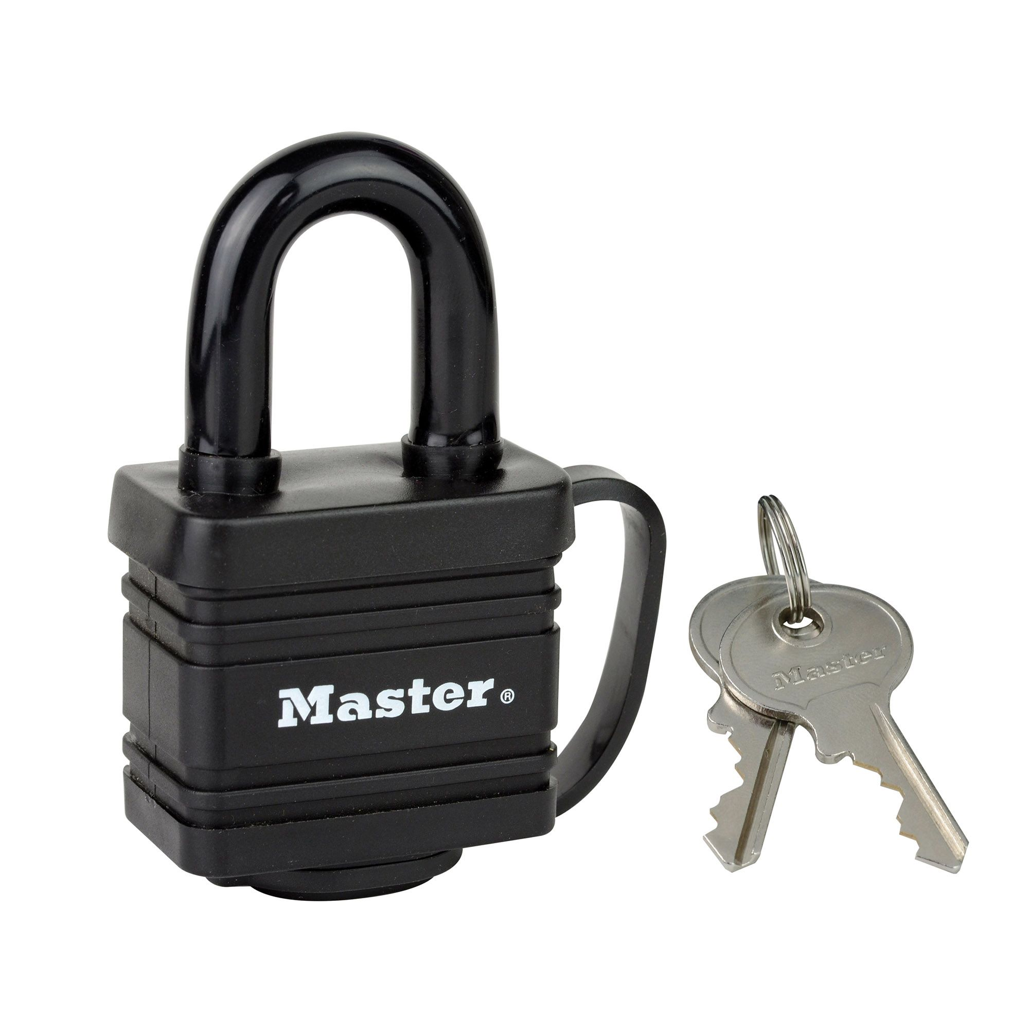 Master Lock Weather Tough Laminated Steel Keyed Hardened