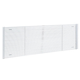 Acova Striane Horizontal Radiator White, (H)456 mm (W)1400