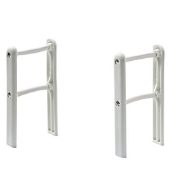 Acova Column Radiator Floor Support (H)100mm (W)136mm