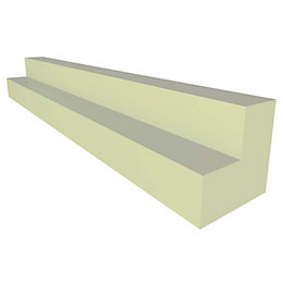IT Kitchens Gloss Cream Slab Base Corner Post