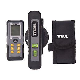 Titan 50m Laser Measure & Level Set