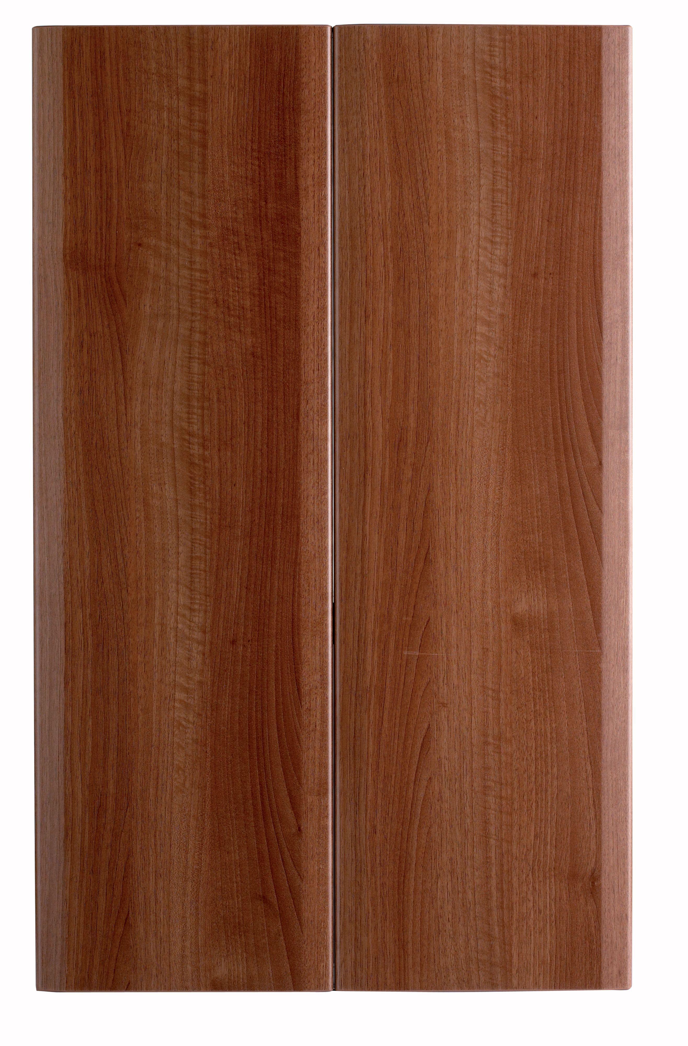 It Kitchens Sandford Walnut Effect Modern Larder Door (w)300mm, Set Of 2